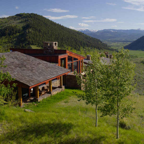 Romantic Destinations Bucket List - Amangani in Wyoming Has A Beautiful View of Nature