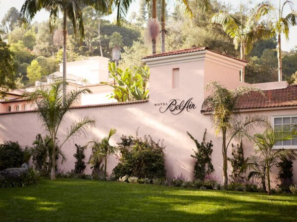 Romantic Destinations Bucket List - Bel-Air Hotel in Los Angeles Offers A Pool And Jacuzzi