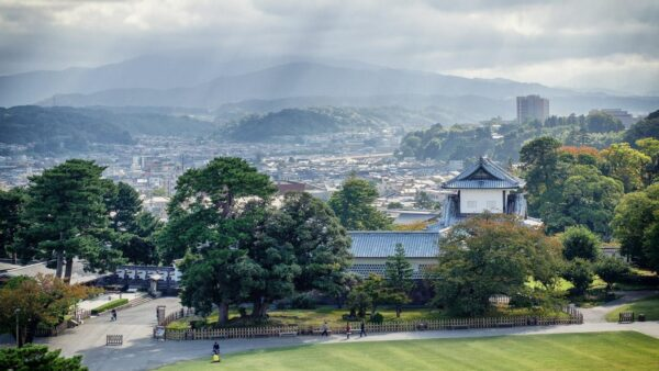 Japan Attractions - Kanazawa Was Fourth Largest City in Japan in Mid-Nineteenth Century