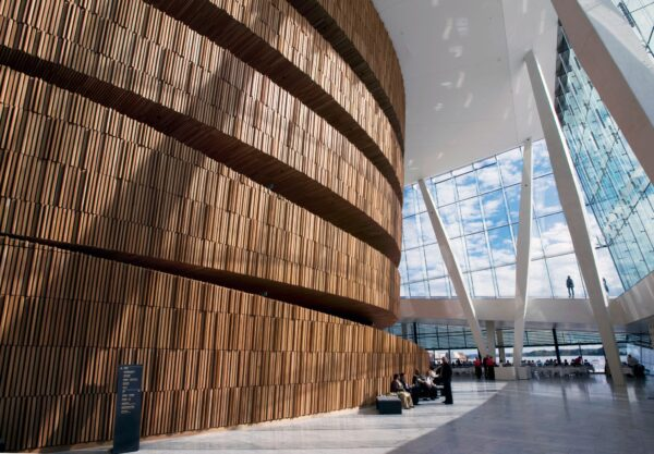 A Guide to Oslo Sightseeing Locations - Oslo Opera House is Made in Italian Marble And White Granite