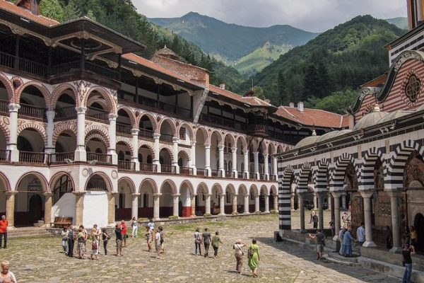 Europe Travel Tips - Rila Monastery is The Largest And The Closest to Sofia