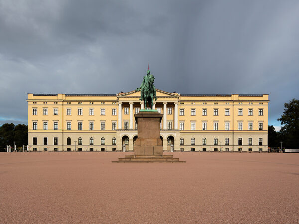 Norway Travel Tips - The Royal Palace is Located At The Northwest End of Karl Johansgate Street