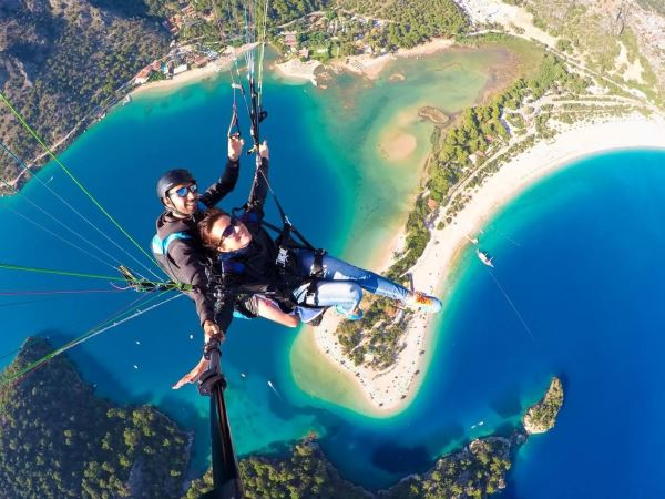 Day Trip to Ölüdeniz - Things to do Consists of Paragliding And Lie Down Next to The Sea