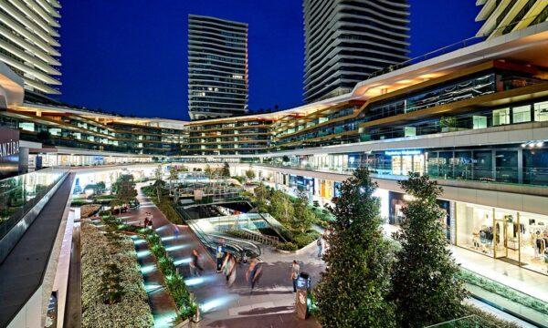 Best Shopping Malls in Istanbul - Zorlu Center Has A Great Outdoor Garden