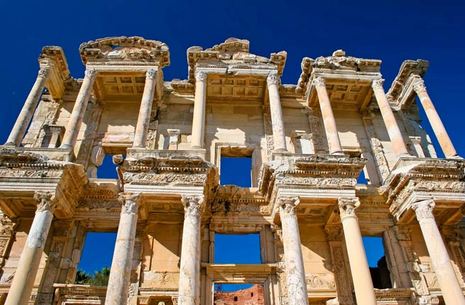Wonderful and spectacular ruins around the world, Ephesus-turkey