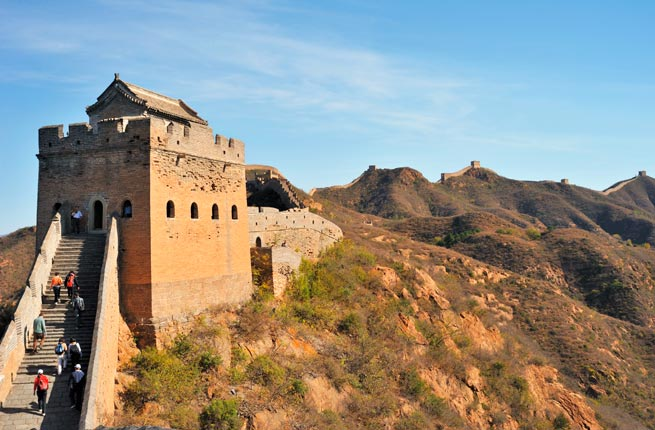 Wonderful and spectacular ruins all over the world, great-wall-of-china
