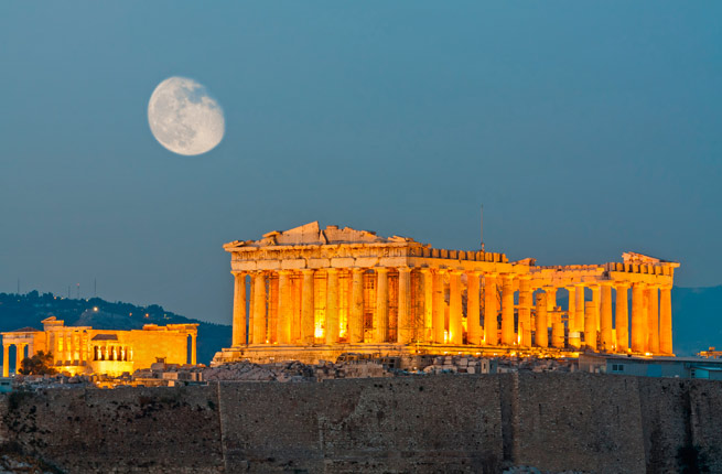 Wonderful and spectacular ruins all over the world, Acropolis