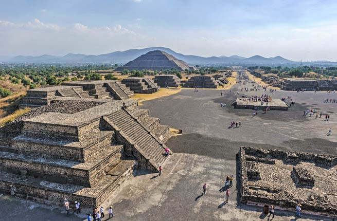 Amazing and spectacular ruins all over the world, teotihuacan-mexico