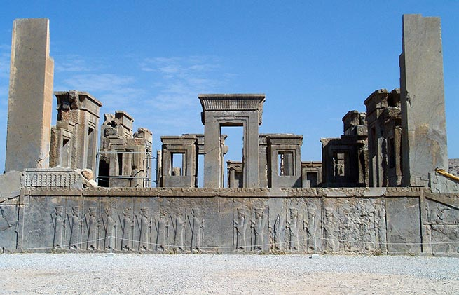 Wonderful and spectacular ruins all over the world, Persepolis