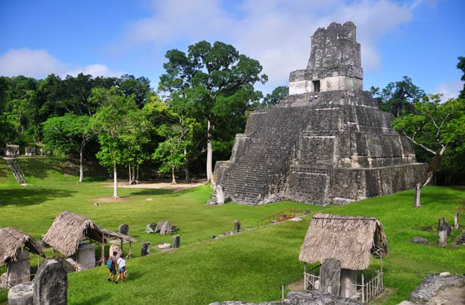 Wonderful and spectacular ruins all over the world, tikal-guatemala