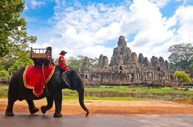 Landmarks of The World - Angkor Wat Was The Capital of The Khmer Empire