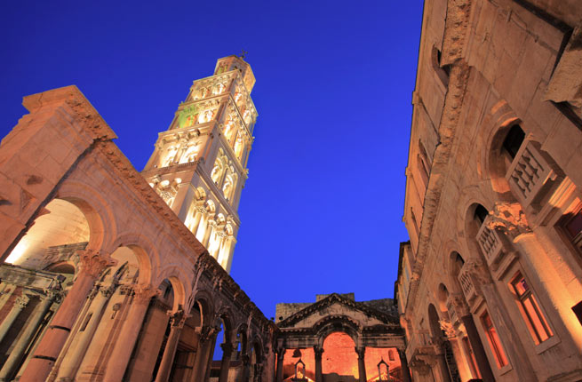 Adventure Travel List - Diocletian's Palace is A Spectacular Palace in the Adriatic Sea