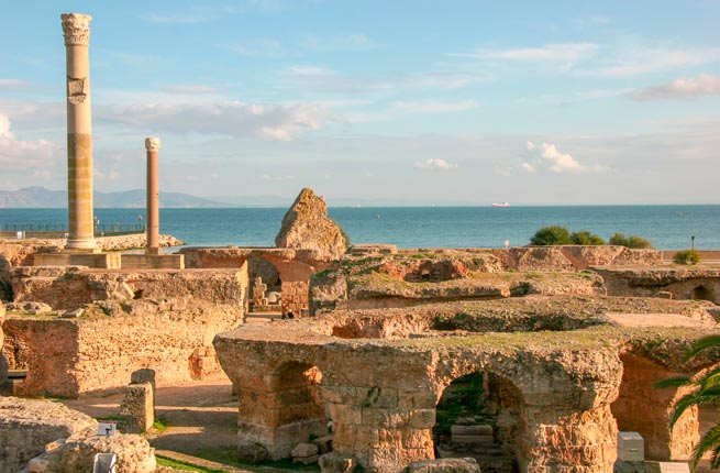 Amazing and spectacular ruins all over the world, carthage-tunisia
