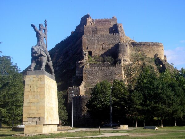 Gori Tourism Places in Georgia - Gori Fortress is Located On A Rocky Hill