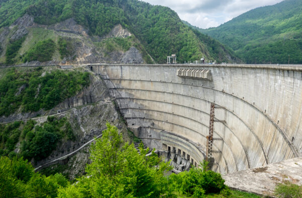 What To Do in Georgia - Inguri Dam is The Second Long Arched Concrete Dam