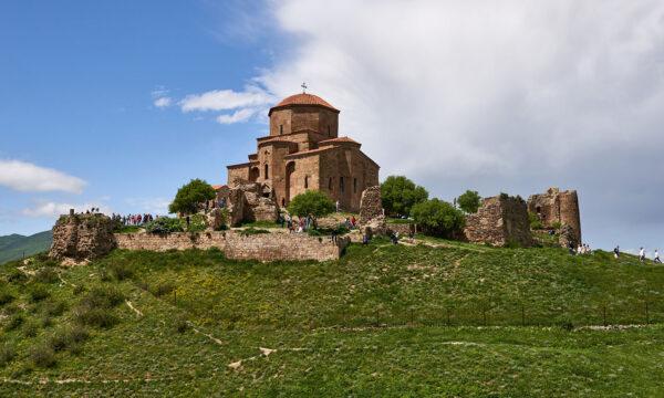 Mtskheta Tourist Places - Jvari Monastery is Located At The Intersection of Aragvi And Mtkvari Rivers