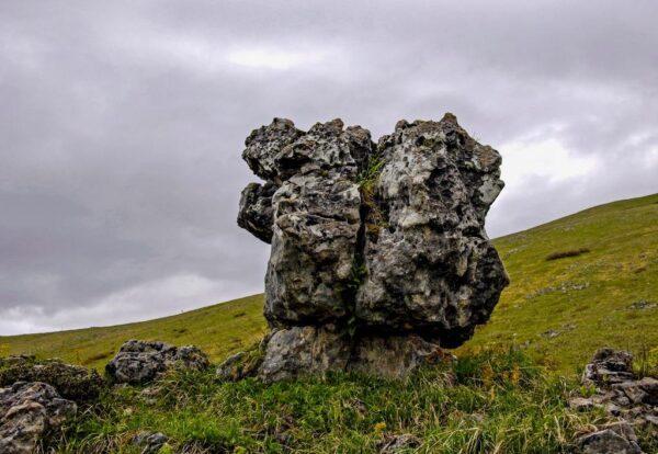 What To Do in Georgia - Kuakantsalia is A Rock Placed in a Pile of Limestone at Tsalenjikha