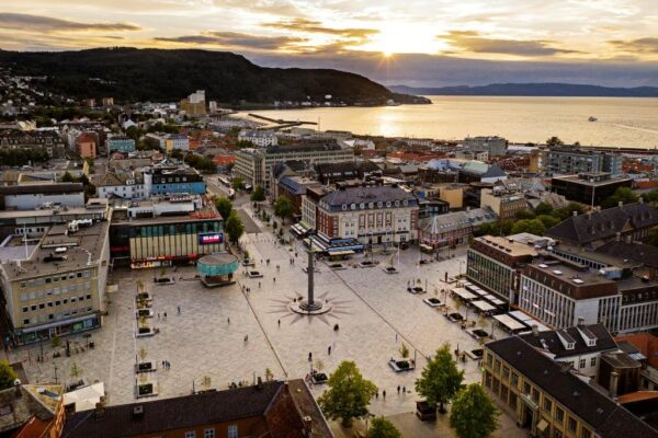 Trondheim Tourist Attractions - Market Square Was Built in 1923 in The Center of The City