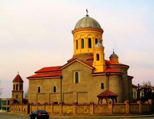Gori Tourism Places in Georgia - Saint Mary's Church is A Catholic Church Built Between 1806 And 1810