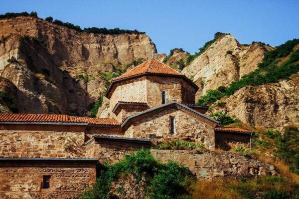 Mtskheta Tourist Places - Shio-Mgvime Monastery Includes Facilities For Various Periods