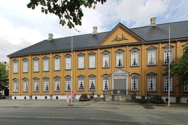 Trondheim Attractions - Stiftsgården Was Built in 1778 by Christine Schøller