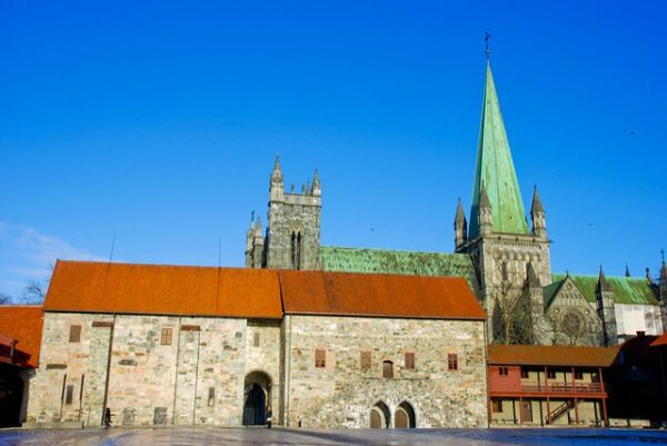 Trondheim Attractions - The Archbishop's Palace Museum Belongs to The Middle Ages