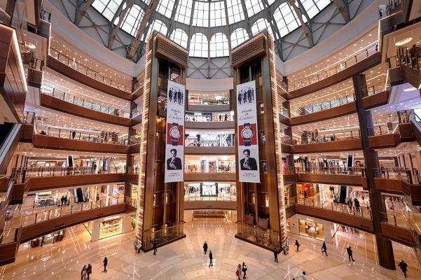 Top Shanghai Malls - Grand Gateway Shanghai Has Six Major Brands With Hundreds of Stores