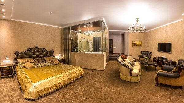 Hotels in Yekaterinburg - Vysotskiy is A 5-star Hotel With Indoor Pool And Free Parking