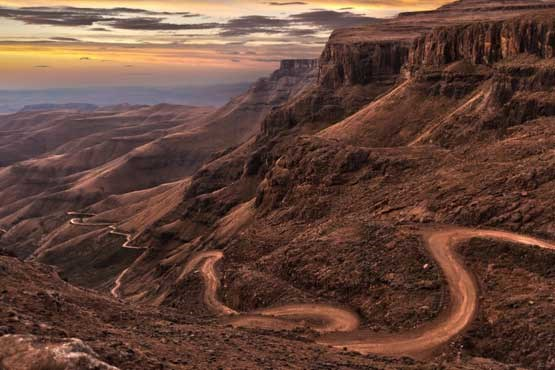 Beautiful and spectacular roads