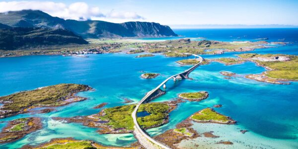 The Most Beautiful Roads in The World - Atlantic Ocean Road is Located in Norway