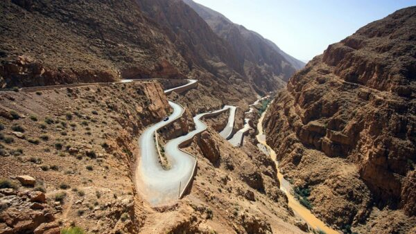 Adventure Travel For Tourists - Dadès Gorges is Located in The East of Morocco