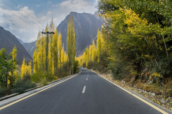 The Most Beautiful Roads in The World - Karakoram Highway is Between Border of China and Pakistan