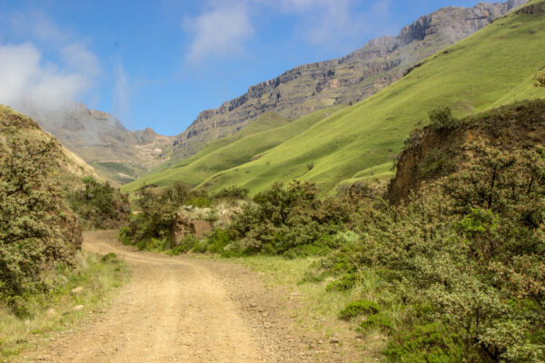 Best Roads in The World - Sani Pass is 9 km Long At The Western Part of KwaZulu-Natal State