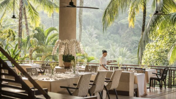 The Most Beautiful Restaurants in The World - Ayung Terrace is Called Rijsttafel As Well