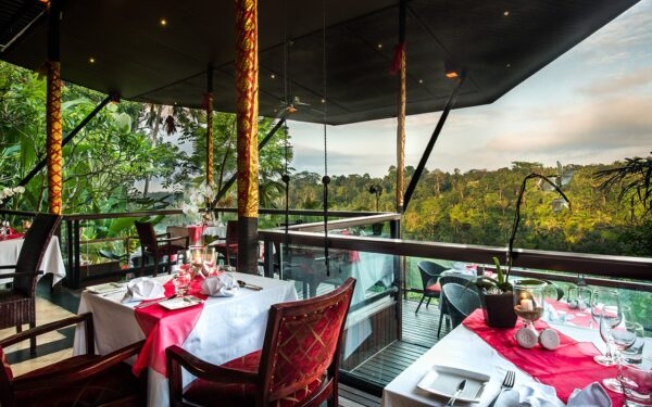 Tourist Travel Tips - Kupu Kupu Barong Villas & Tree Spa by L'Occitane is A Restaurant With Numerous Terraces Facing Lush Nature Nearby