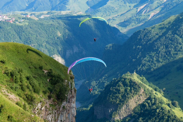 Adventure in Georgia For Travelers - Paragliding & Horse Riding is Available in Gudauri Area