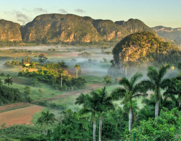 Tourist Attractions in Cuba - Parque Nacional Vinales Where Locals Grow Tobacco, Fruits And Vegetables