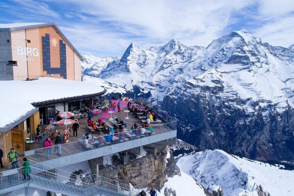 Piz Gloria is The Rotating Gloria Restaurant - The Most Beautiful Restaurants in The World