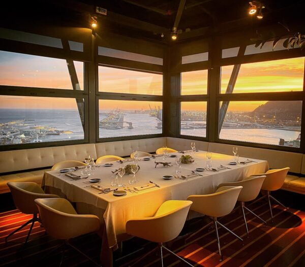 The Most Beautiful Restaurants in The World - Torre d'alta mar is Located At The Top of The Port Vell Tower