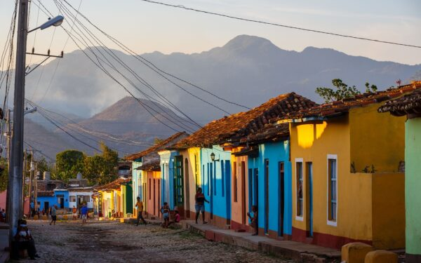 Places in Cuba - Trinidad Has Colorful Houses And it is Most Popular Place For Foreign Tourists