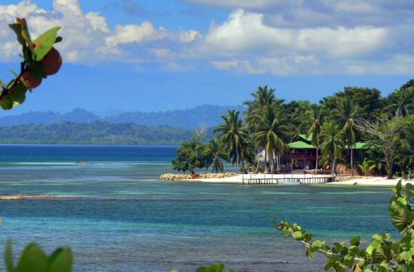 The Most Beautiful Islands in Panama - Carenero Island is Located Near The Big Island of Isla Colón