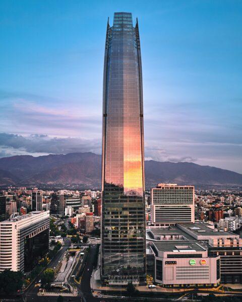 Santiago City Attractions - Gran Torre Santiago is Known As tThe Costanera Center Torre 2