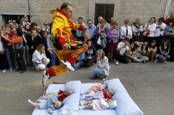 Adventure Travel For Tourists - El Colacho Baby Jumping in Spain is A 16th Century Tradition