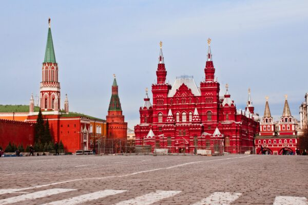 Moscow is The Capital of Russia With Red Square And Historic Churches - Tourist Attractions in Russia