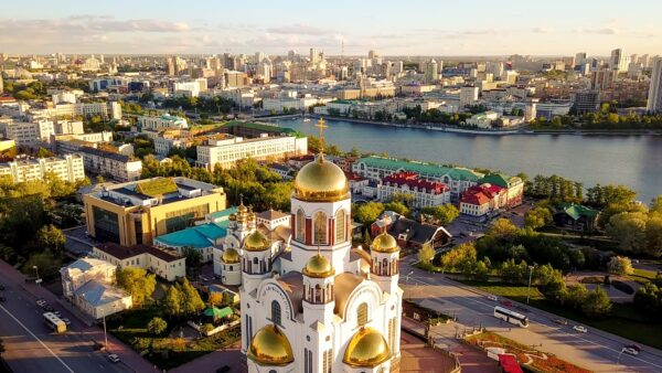 Tourist Attractions in Russia - Yekaterinburg is An Industrial City in Ural Mountains