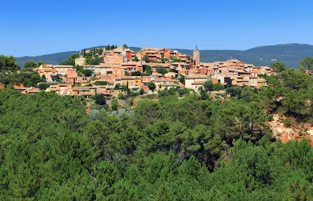 Sights of Provence, France