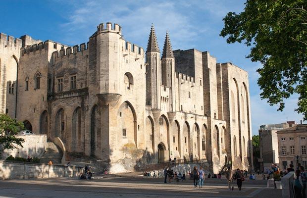 Avignon - a tourist sight in France