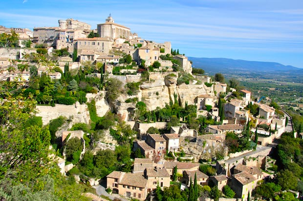 Gordes -  a beautiful village in France