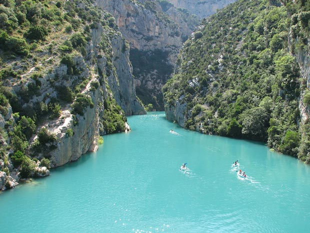 Gorge du Verdon - a beautiful valley in France