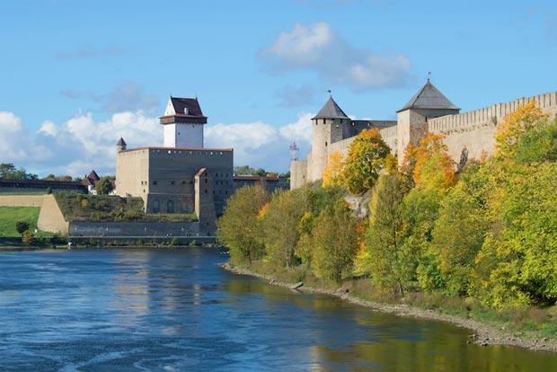 Estonian sights, Narva Castle - narva_castle